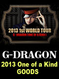 G-Dragon2013WORLD TOUR : ONE OF A KIND GOODS